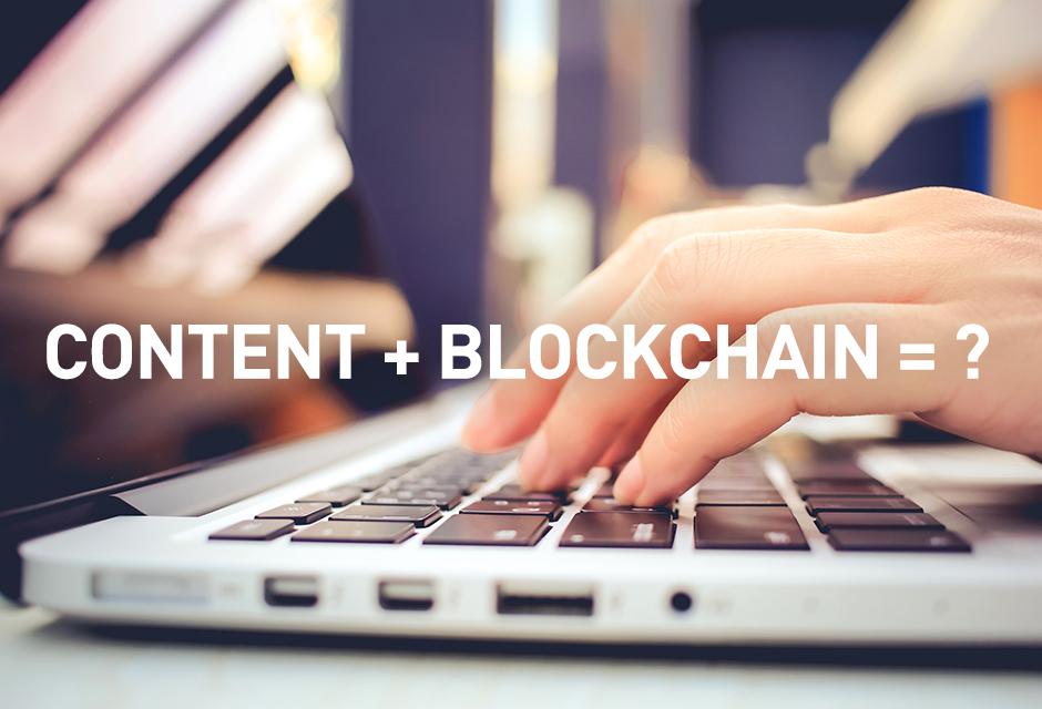 Contenidos + Blockchain en la industria AV & TI